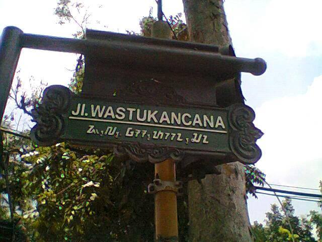 Kesalahan Penulisan Aksara Sunda di Plang Jalan Kota Bandung